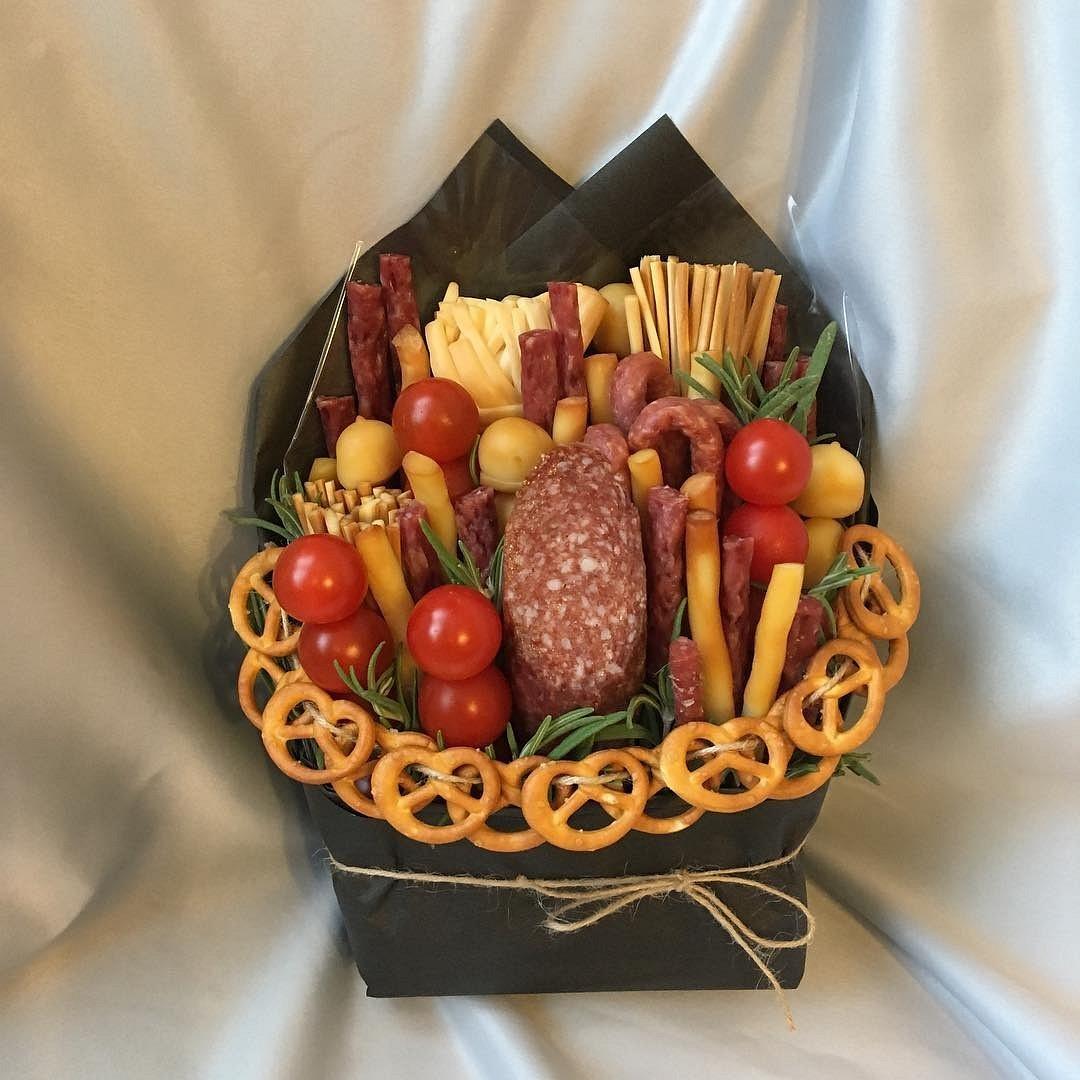 Официальные букеты для мужчин из продуктов своими руками, свадьбу