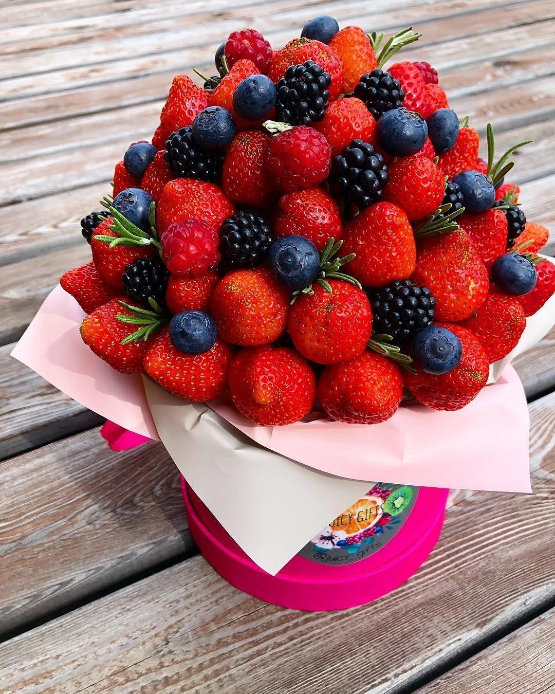 Поздравления связанные с фруктами ягодами