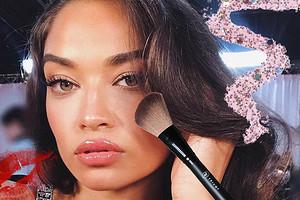 Сияющая кожа и нежный румянец : повторяем макияж ангелов Victorias secret бюджетной косметикой