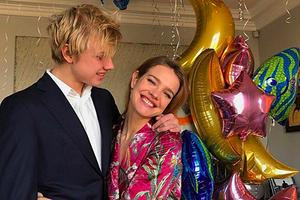 Наталья Водянова показала свою будущую невестку