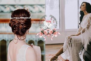 Самые модные прически на свадьбу 2019: от локонов до образа в стиле панк