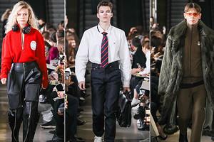 Метро и офисный дресс-код: как прошел показ концепт-стора «Секция» в рамках Mосковской недели моды