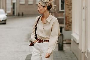 С чем носить белые женские джинсы: 43 модных образа для любого времени года