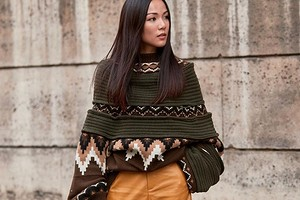 Одна вещь — 4 образа: как носить вязаный свитер оверсайз