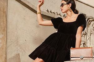 Одна вещь — 4 образа: как интересно носить черное платье
