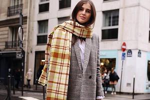 Модные шарфы 2020 года: 50 актуальных моделей на любой вкус и цвет