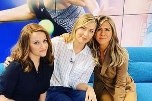 Мария Шарапова снялась в сериале вместе с Дженнифер Энистон и Риз Уизерспун