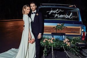 Хилари Дафф показала новые фото со свадьбы на заднем дворе
