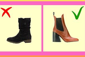 Как из деревни: 3 модели обуви, которую нельзя носить с пуховиком