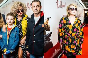 Рената Литвинова, Дмитрий Певцов и Ольга Дроздова на премьере фильма «На Париж»