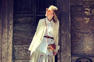 Ксения Собчак выложила забавное фото со статуей голого мальчика из Венеции