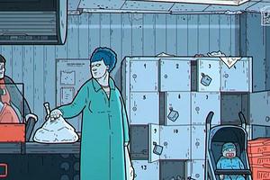 Русская артхаусная группа выпустила альтернативную версию сериала «Симпсоны» (видео)