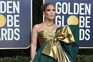 Платье Дженнифер Лопес признали худшим на «Золотом глобусе»