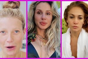20 фото звезд без макияжа и фотошопа: как на самом деле выглядят знаменитости