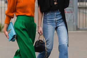 С чем носить широкие брюки: модные советы и образы для вдохновения