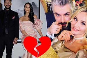 7 красивых российских пар, которые распались в 2020 году