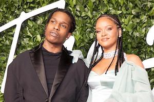 Рианну засняли на свидании с A$AP Rocky