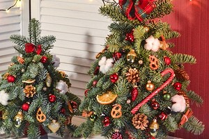 Куда поставить елку в небольшой квартире: 5 простых и интересных идей