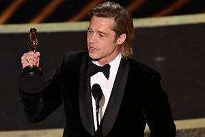Брэд Питт получил первый «Оскар» за актерское мастерство (видео)