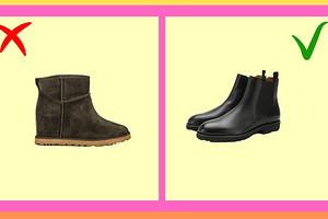 4 пары обуви, которые плохо смотрятся с пальто (и чем их заменить)