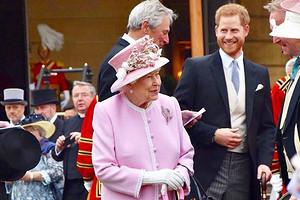 Елизавета II встретилась с принцем Гарри и заявила, что хочет чаще видеться с правнуком
