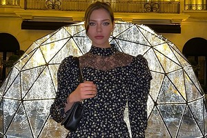 Леся Кафельникова закрыла показ Канье Уэста (видео)
