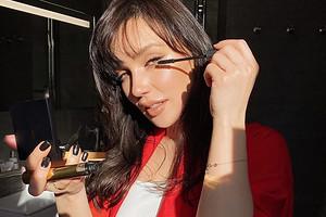 Ольга Серябкина сделала «мокрую укладку» вчесть дня рождения