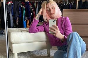 «Барби»: Настя Ивлеева похвасталась розовым винтажным пиджаком Chanel