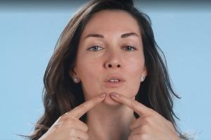 Императорский массаж Кобидо: 3 приема для нижней трети лица (видео)