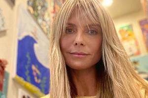 «Время летит»: Хайди Клум честно показала свои возрастные изменения