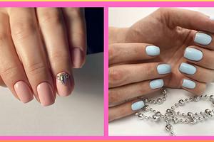 Тренды в дизайне ногтей 2020: идеи нежного летнего маникюра (55 примеров на фото для вдохновения)
