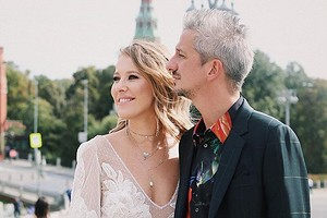 Ксения Собчак «застрелила» Богомолова, который пытался сбежать (видео)