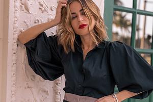 Просто и со вкусом: 43 модных варианта, с чем носить черную блузку