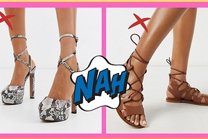 5 моделей обуви, которая будет полнить даже идеальные ноги