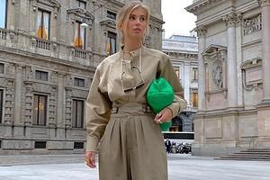 С чем носить зеленую сумку: идеи стильные комбинаций и 38 образов на фото