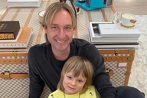 Евгений Плющенко заявил, что его сын может променять фигурное катание на футбол