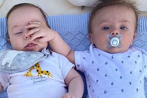 «Сладуны»: Оксана Самойлова иИда Галич показали совместное фото своих сыновей (мимими)