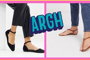 Сочетать нельзя: 5 пар обуви, которые не стоит носить с брюками летом