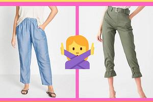 Никому не идут и уродуют фигуру: 5 устаревших моделей брюк, от которых пора избавиться