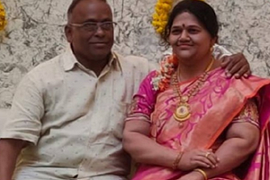 Индийский бизнесмен построил дом для восковой копии погибшей жены (вот это любовь)