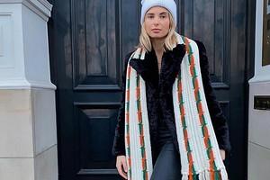 Как правильно носить шарф с разными видами курток: 26 образов на каждый день, которые легко повторить