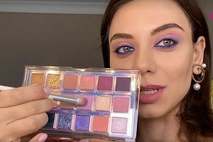 Летний макияж «смоки айс» в лилово-розовых оттенках: пошаговая инструкция от визажиста (видео)