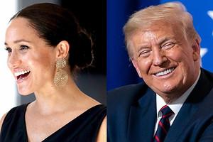 «Удачи»: Дональд Трамп рассказал, как относится к Меган Маркл