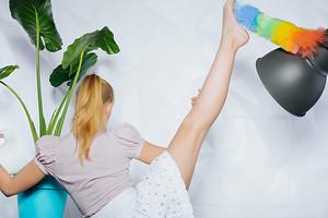 Комплекс упражнений, который легко делать прямо во время уборки