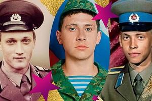 Звездные защитники: 10 фото российских известных мужчин в армейской форме