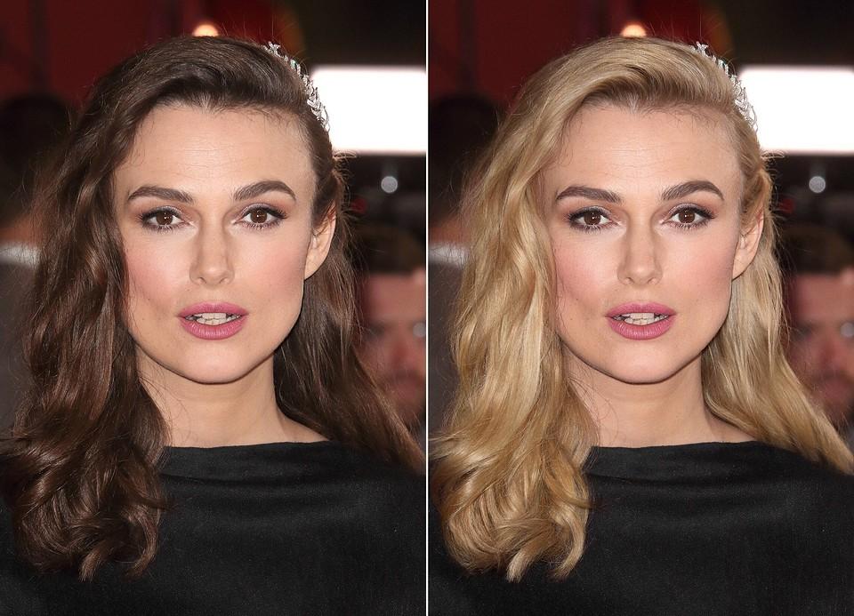 Как бы выглядели известные брюнетки, если бы решили перекраситься в блонд