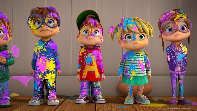 Элвин и бурундуки возвращаются на экраны в новом сериале на Nickelodeon