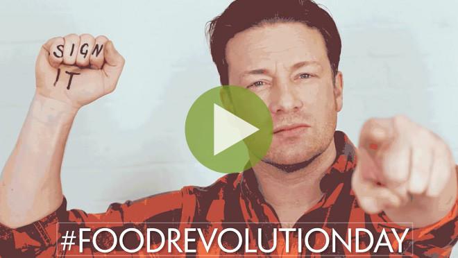 Джейми Оливер призвал весь мир задуматься о здоровом питании