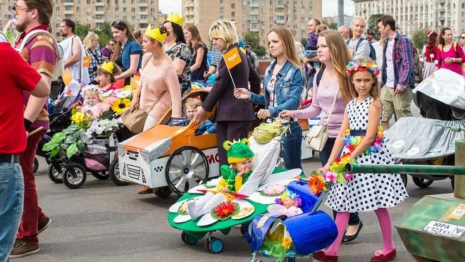 В Москве прошел Парад Колясок (фото)