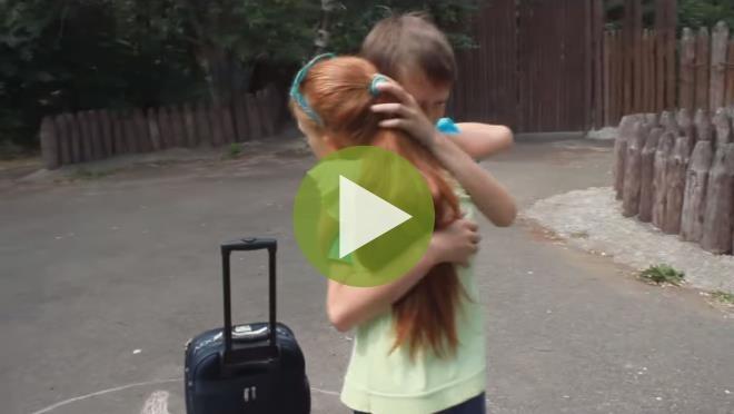 История любви в лагере